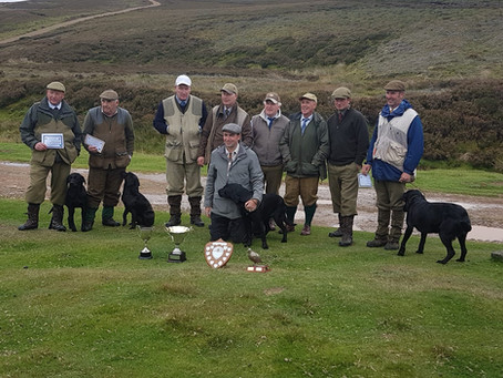 1st Place & Guns Choice for Burrendale Rambler...