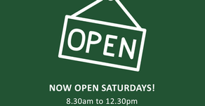 The DN Store is now OPEN on Saturdays...