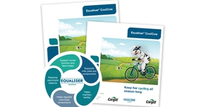 Keep her cycling all season long! Introducing Equaliser® CoolCow...