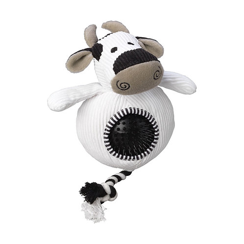 Cord Dog Toy with Ball