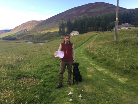 1st Place & Guns Choice for Burrendale Ace...