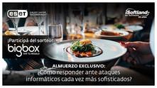 iSoftland/ESET te invitan a un almuerzo exclusivo en i Central Market de Puerto Madero, Viernes 25/1