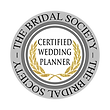CWP Badge - Certified Wedding Planner - The Bridal Society