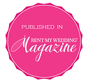 Published in Rent By Wedding Badge