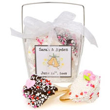 Wedding Personalized Take Out Pails