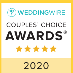 Wedding Wire - 2020 Couples Choice Award Recipient