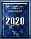 2020 - Weston Award