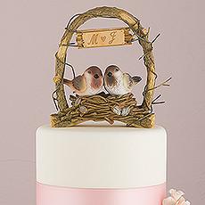 WS - A Love Nest - Love Birds In Archway