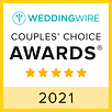 WeddingWire Couples Choice Award 2021