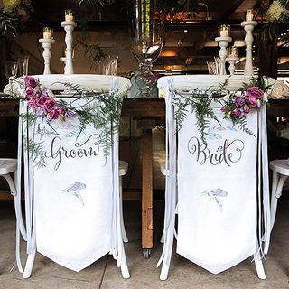 WS - Feather Whimsy Bride and Groom Chai