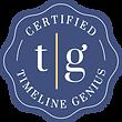Certified Timeline Genius Badge