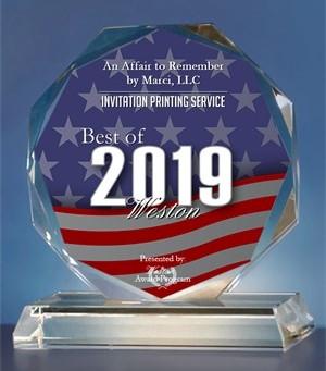 2019 Best of Weston Award