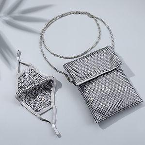 Natlie Mills - Bling Bag and Mask
