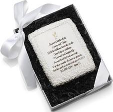 Edible Cookie Card Wedding Invitation