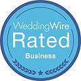 WeddingWire Rated Business Badge