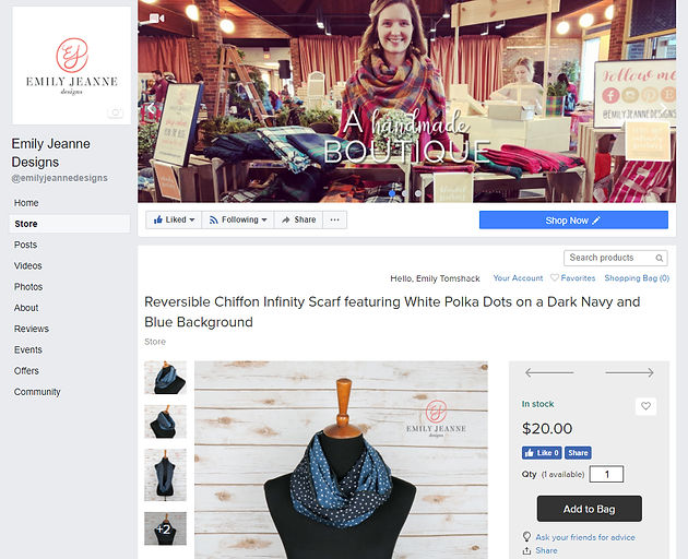 Introducing the new web store, Facebook store, YouTube