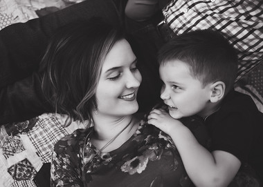 Emily and son
