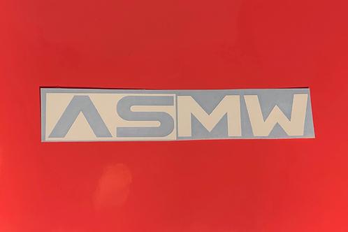 ASMW Block Vinyl