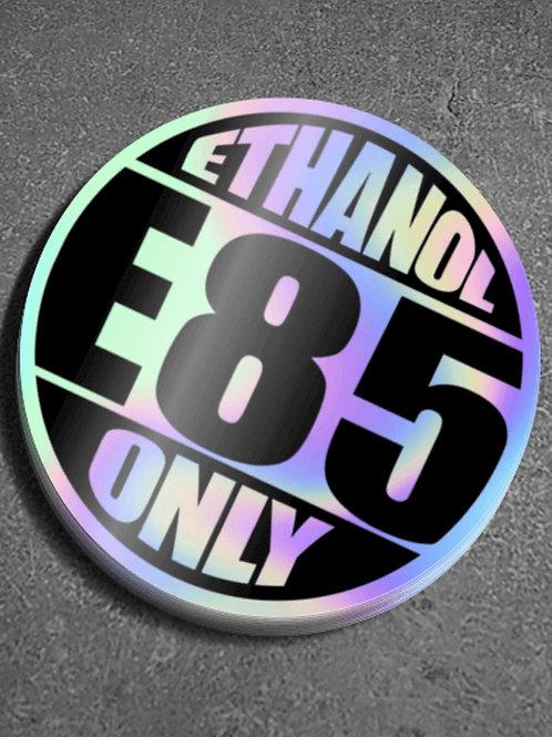 Ethanol Only Sticker