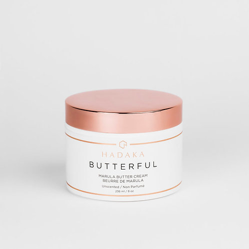 BUTTERFUL Marula Body Butter Unscented 236ml/8oz