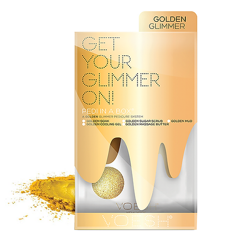 Golden Glimmer Pedi In a Box