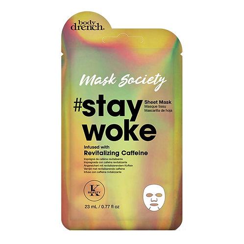 #Stay Woke Sheet Mask