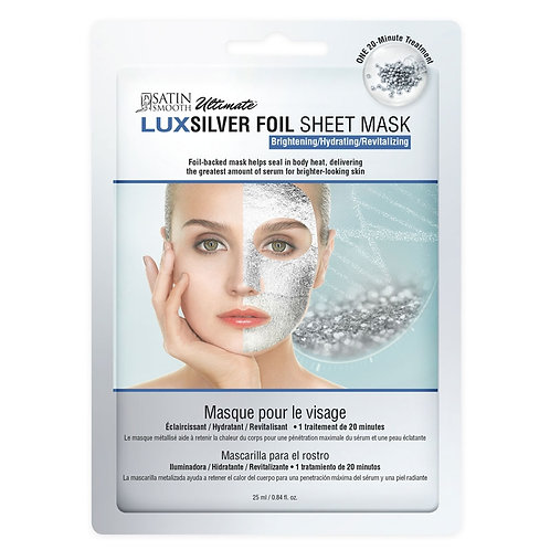 Lux Silver Foil Sheet Mask