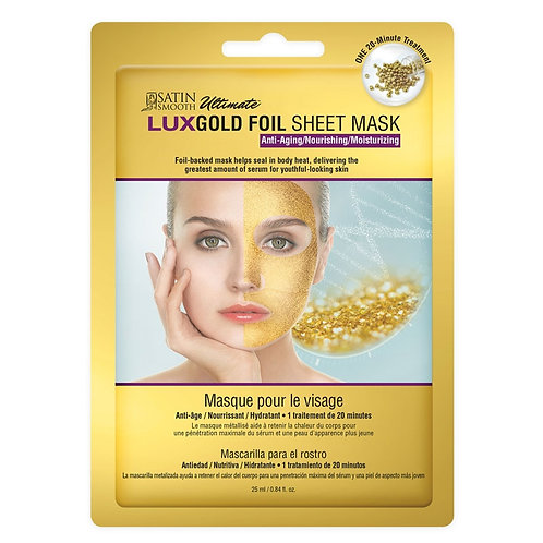 Lux Gold Foil Sheet Mask