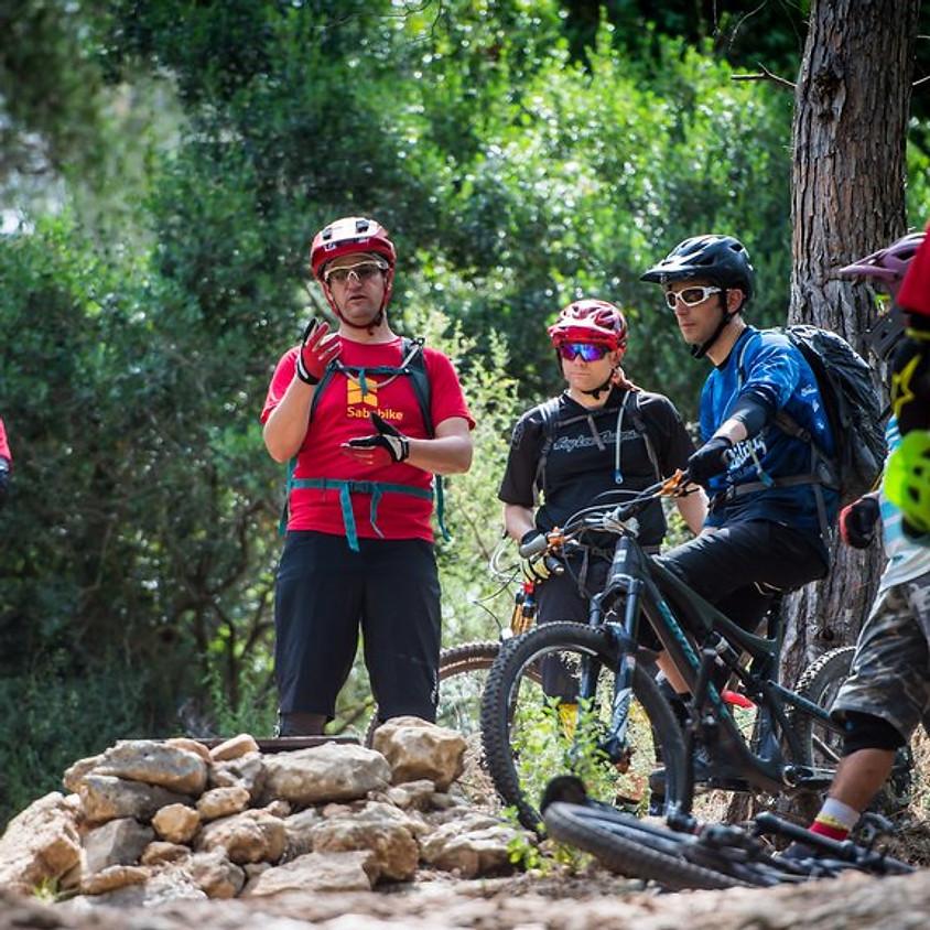 שיפור טכניקה   רוכבים מתקדמים   יער בן שמן