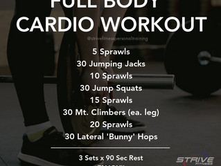 Workout of the Week - 7-23-2021