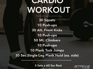 Workout for the Weekend - 6/18/21