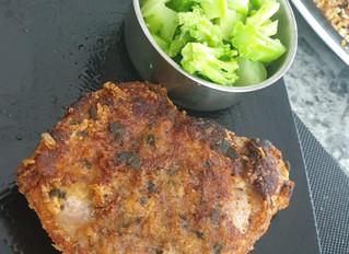 Parmesan & Sage Bone-In Pork Chop