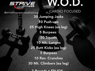Workout of the Week - 9/5/20