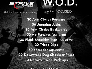 Workout of the Week - 10/3/20