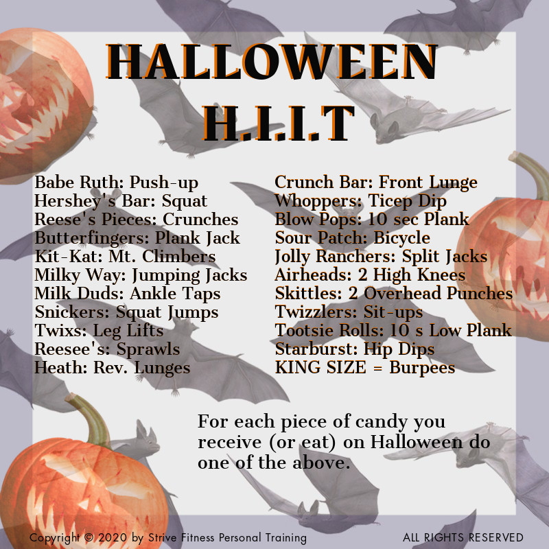 Get spooky with this full body Halloween H.I.I.T workout