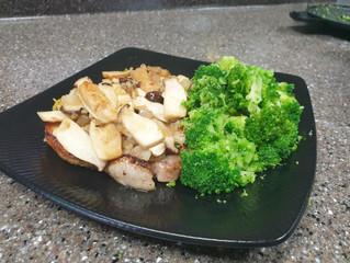 Mushroom Lemon Bone-In Pork