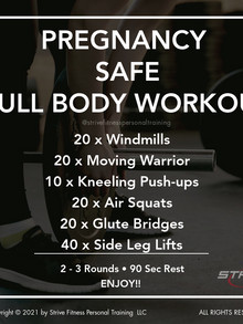 Workout for the Weekend - 3/19/21