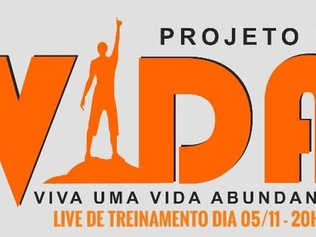 LIVE DE TREINAMENTO - PROJETO DE VIDA 2.0