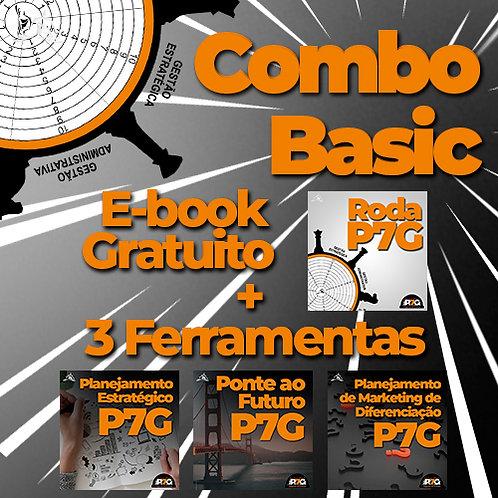 Combo Basic (E-Book Roda de Avaliação + 3 Ferramentas)