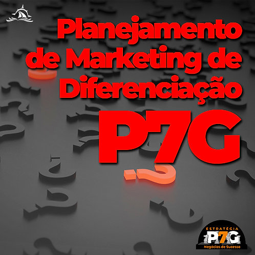 E-book Planejamento de Marketing de Diferenciação P7G