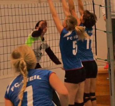 Damen II der Lechrain Volleys feiern ersten Saisonsieg
