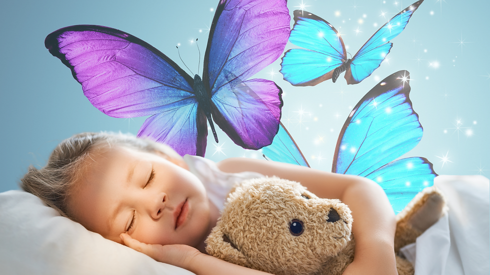 FREE - Anxiety Relief - a trance-forming sleep meditatation - Butterfly Lullaby