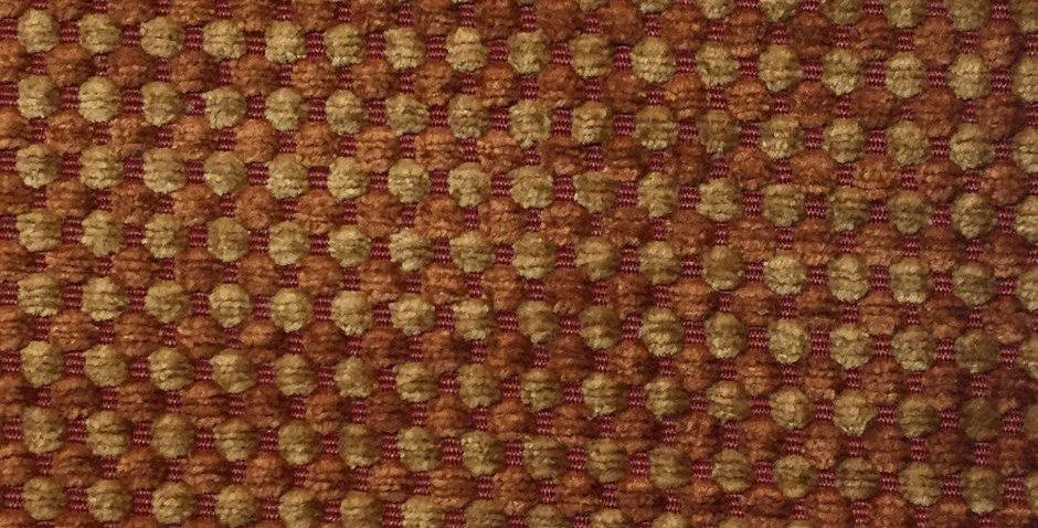 Orange and Gold Dot - Chenille