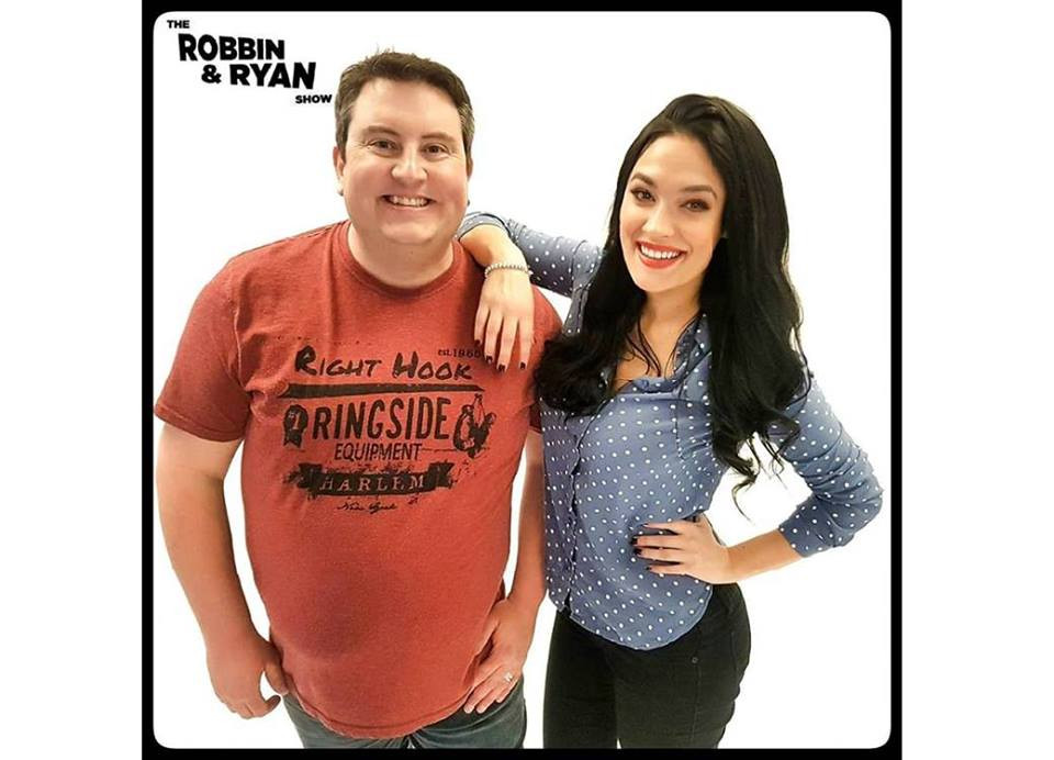 Robbin Reay on KISS FM!