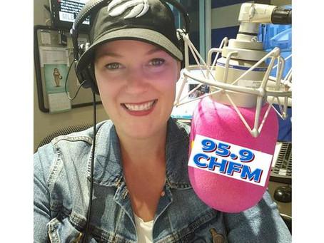 Candice Johnson on CHFM!