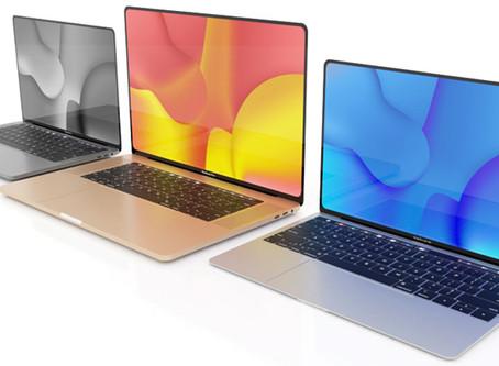La chaîne logistique attend le lancement des nouveaux MacBook Pro 16 pouces, 13 pouces et MBK AiR