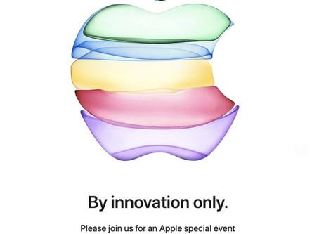 Apple invite les médias à la keynote du 10 septembre