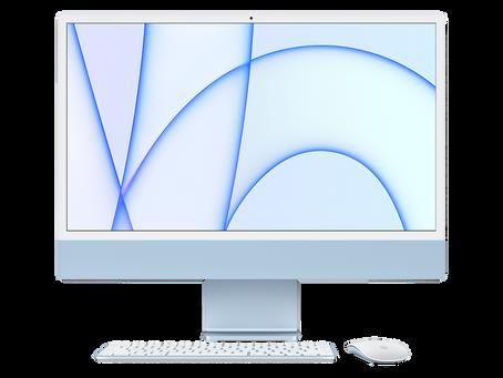 macOS Big Sur 11.3 comprend de nouveaux fonds d'écran colorés conçus pour M1 iMac