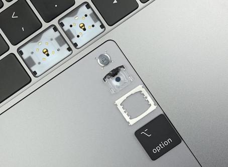 Le nouveau MacBook Air et le MacBook Pro 13 pouces ont le même clavier que les MacBook Pro