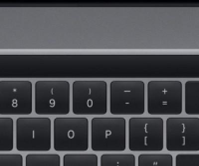 Disposition de la barre tactile MacBook Pro 16 pouces confirmée